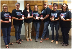 TVTFCU staff wear jeans to benefit the Connecticut Children�s Medical Center on �Miracle Jeans Day�.